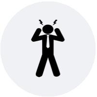 Læs om, hvordan du forebygger stress og er opmærksom på stress-symptomer. Book et forløb til håndtering af stress til dig selv eller dine medarbejdere.